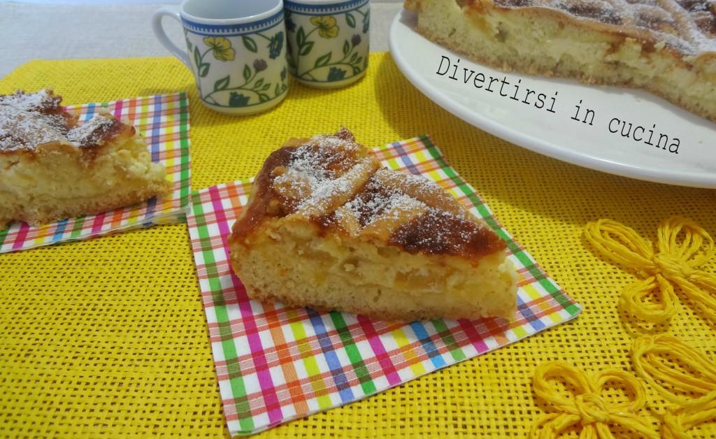 Ricetta crostata mascarpone ricotta e ananas Divertirsi in cucina