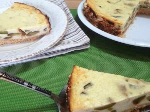 Ricetta cheesecake salata alle zucchine Divertirsi in cucina