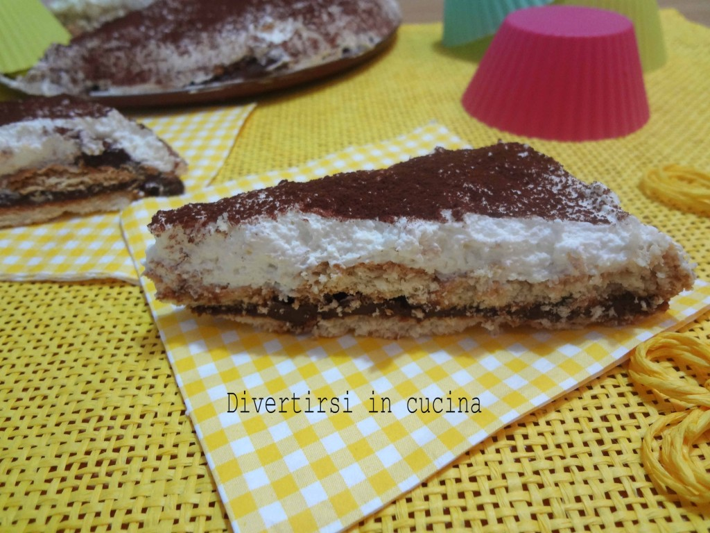 Ricetta torta panna e Nutella senza cottura Divertirsi in cucina