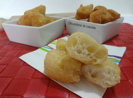 Frittelle salate con pasta madre