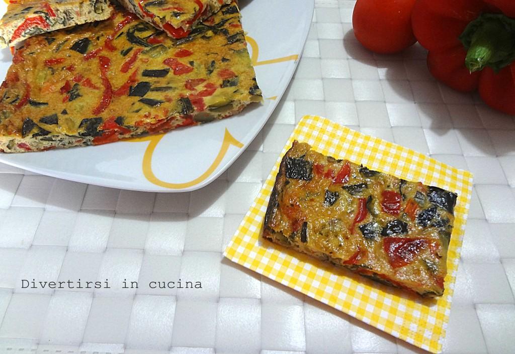 Ricetta sformato di verdure Divertirsi in cucina