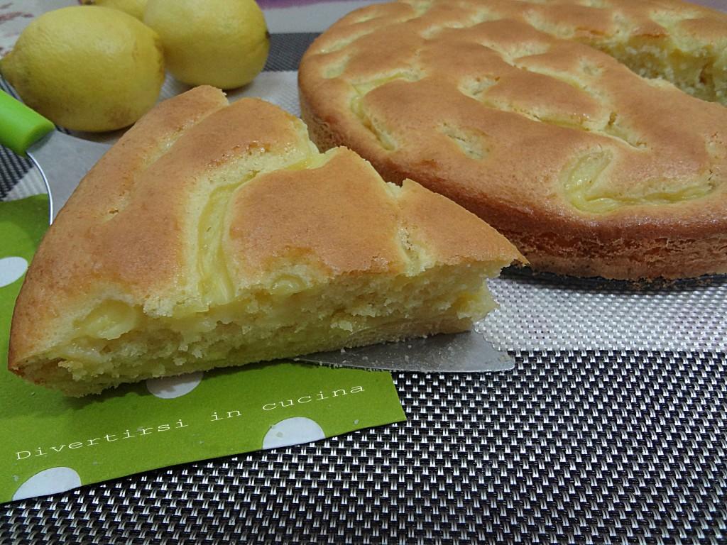Ricetta torta al limone Divertirsi in cucina