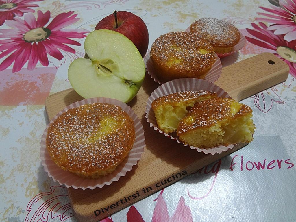 Ricetta muffin alle mele Divertirsi in cucina
