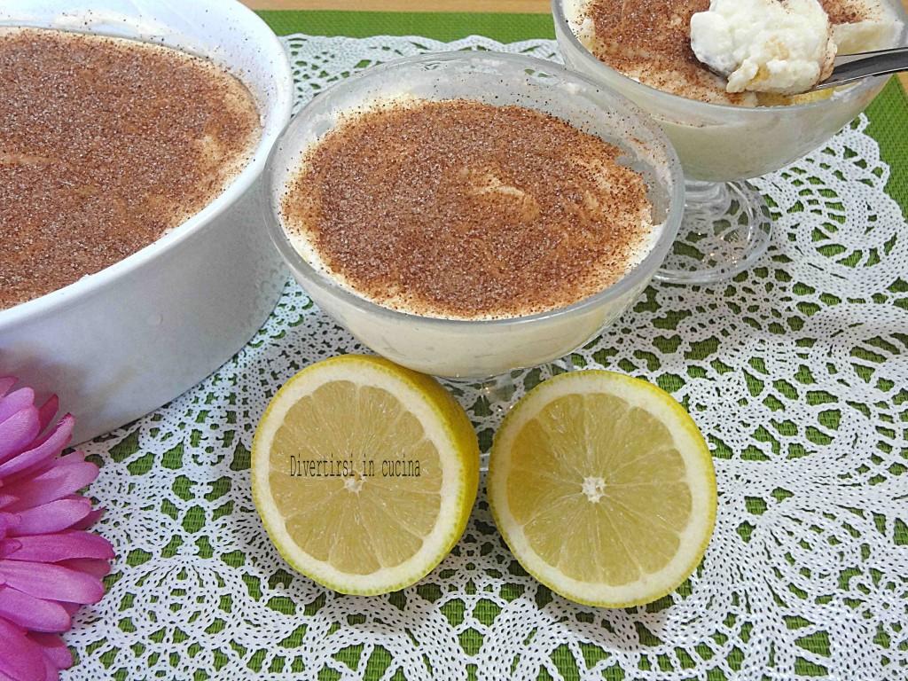 Ricetta tiramisu al limone Divertirsi in cucina
