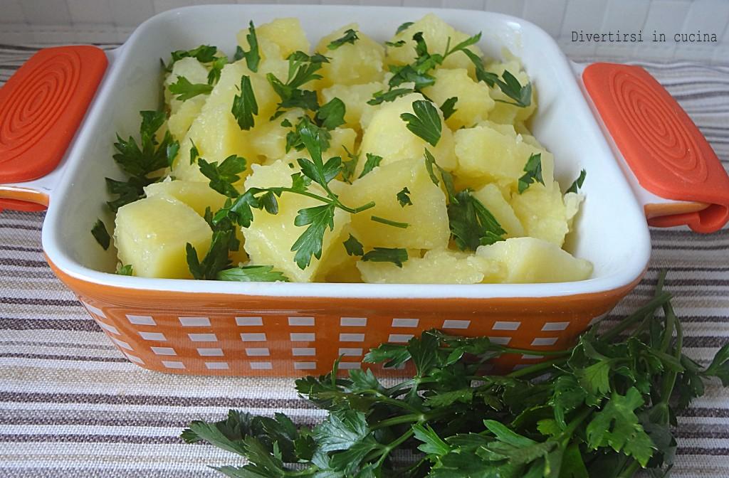 Ricetta patate lesse al prezzemolo Divertirsi in cucina