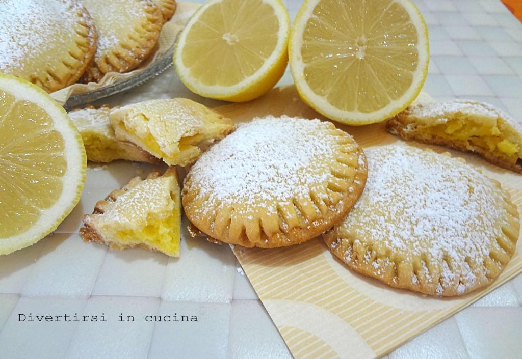 Ricetta biscotti al limone farciti  Divertirsi in cucina