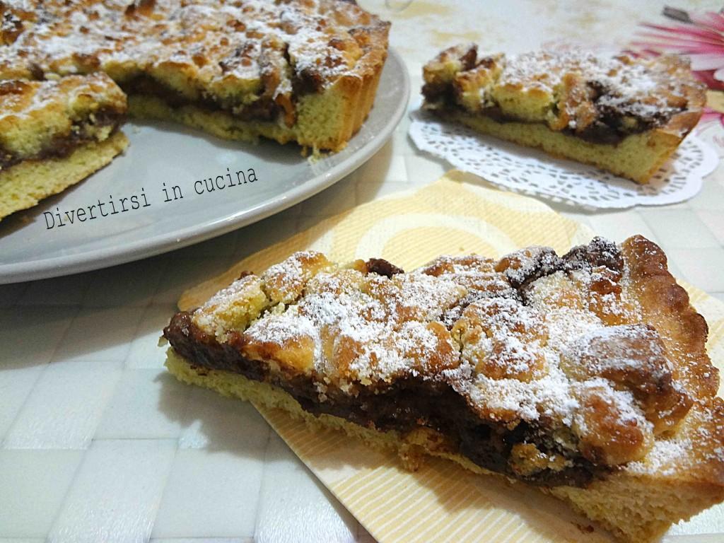 Ricetta sbriciolata Nutella e Mascarpone Divertirsi in cucina