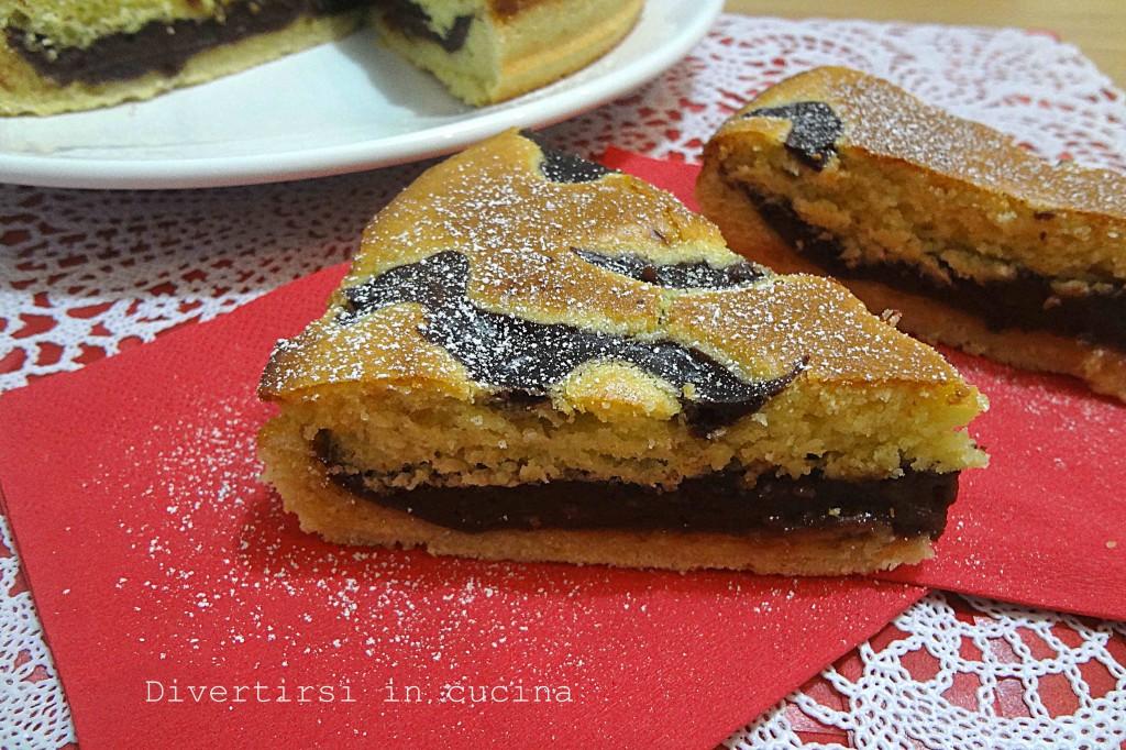 Ricetta torta farcita al cioccolato Divertirsi in cucina