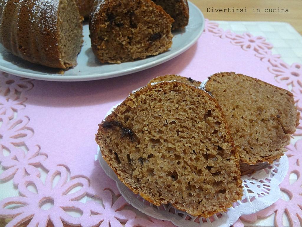Ricetta ciambella ricotta e Nutella Divertirsi in cucina