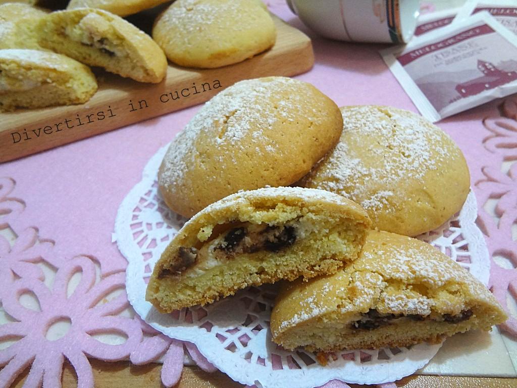 Ricetta biscotti farciti  alla ricotta Divertirsi in cucina
