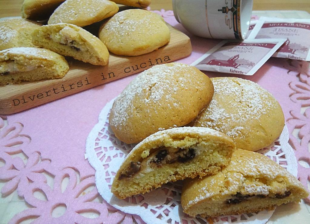 Ricetta biscotti farciti di ricotta Divertirsi in cucina