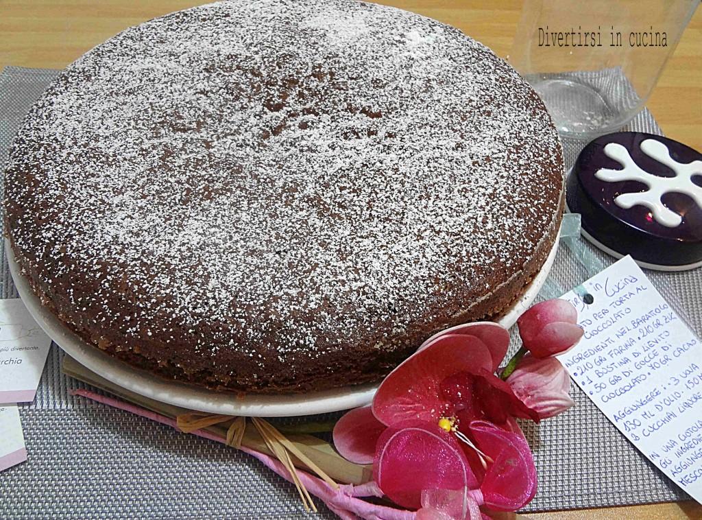 Ricetta preparato per torta al cioccolato Divertirsi in cucina