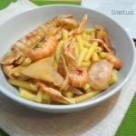 Ricetta pasta scampi calamari e canocchie Divertirsi in cucina