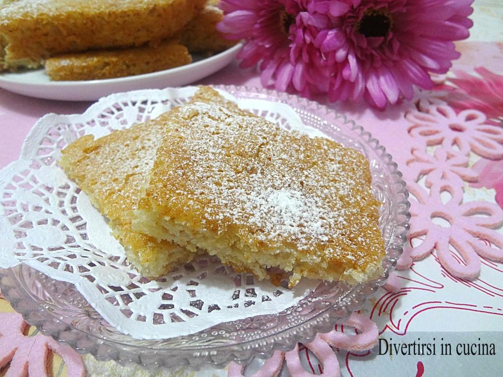 Ricetta torta senza uova e latte di riso Divertirsi in cucina