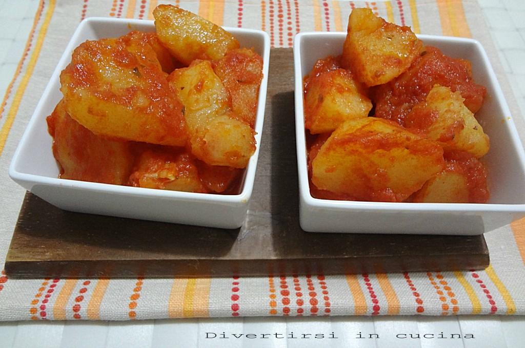 Ricetta patate alla pizzaiola Divertirsi in cucina