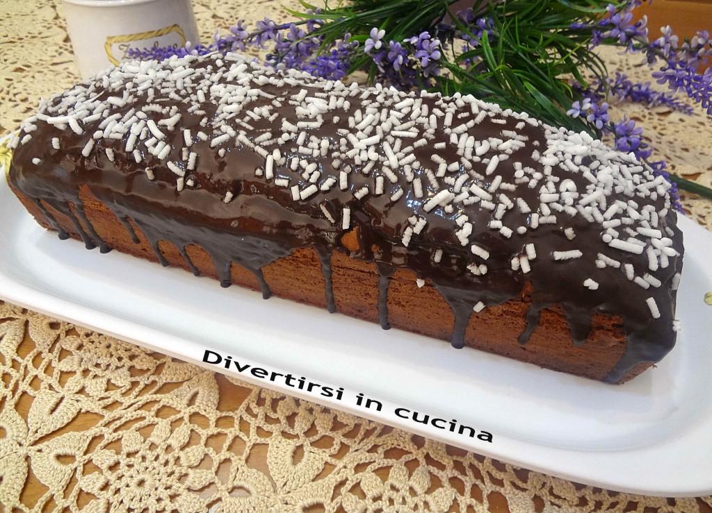 Ricetta plumcake alla Nutella glassato Divertirsi in cucina