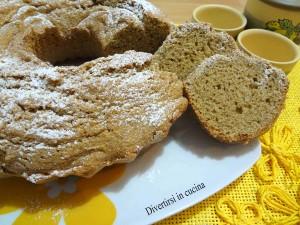 Ricetta ciambellone con farina integrale Divertirsi in cucina