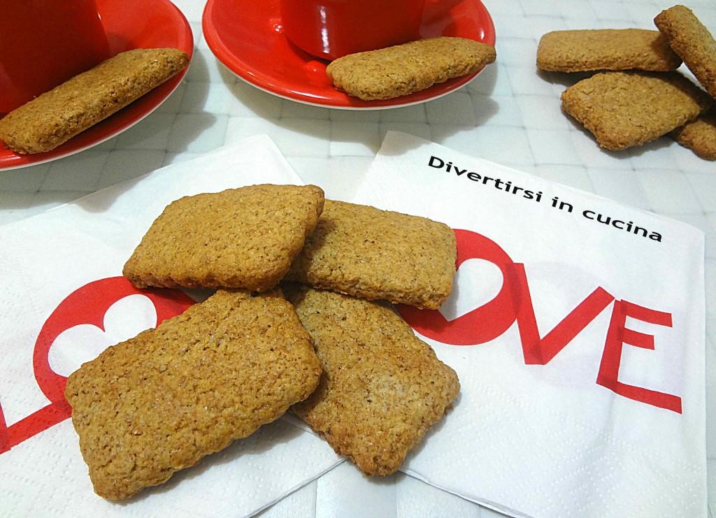 Ricetta biscotti integrali al miele Divertirsi in cucina