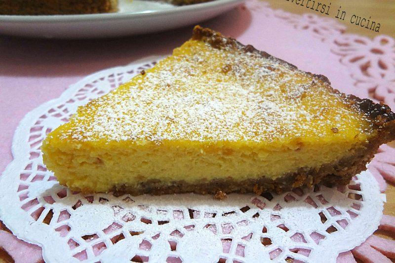 Cheesecake agli amaretti