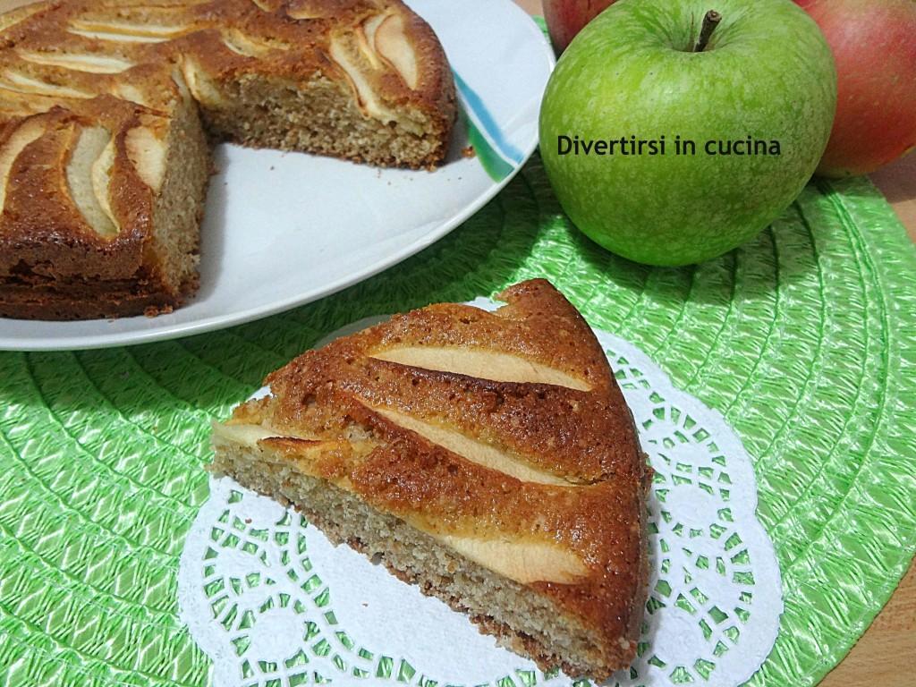 Ricetta torta di mele con farina integrale senza lievito Divertirsi in cucina