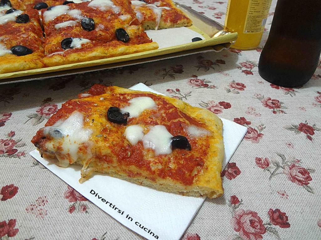 Ricetta pizzette al taglio Divertirsi in cucina