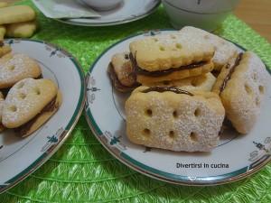 Ricetta biscotti di pasta frolla alla Nutella divertirsi in cucina