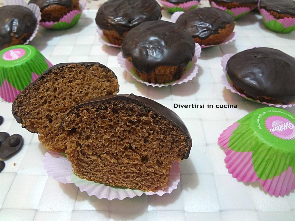 Ricetta muffin alla nutella glassati Divertirsi in cucina