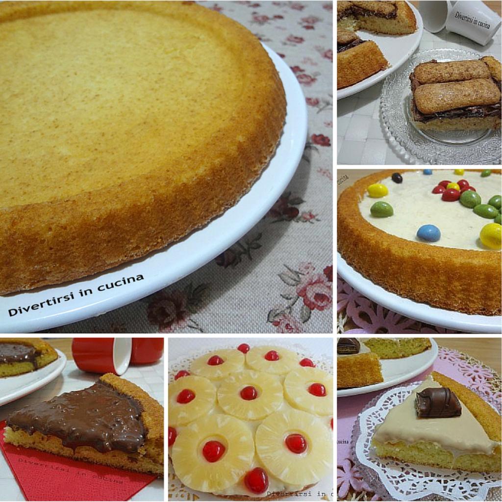 Ricetta Base morbida per torte Divertirsi in cucina