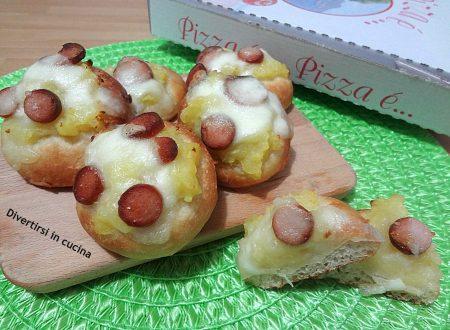 Pizzette patate e wurstel
