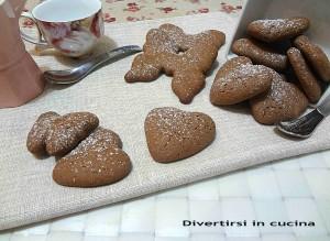 Ricetta biscotti di pasta frolla al cioccolato Divertirsi in cucina