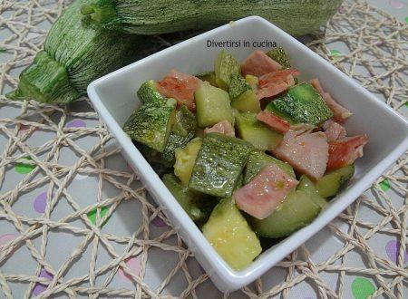Zucchine cremose per pasta o contorno