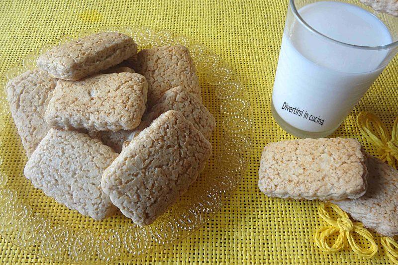 Biscotti senza uova con Bimby