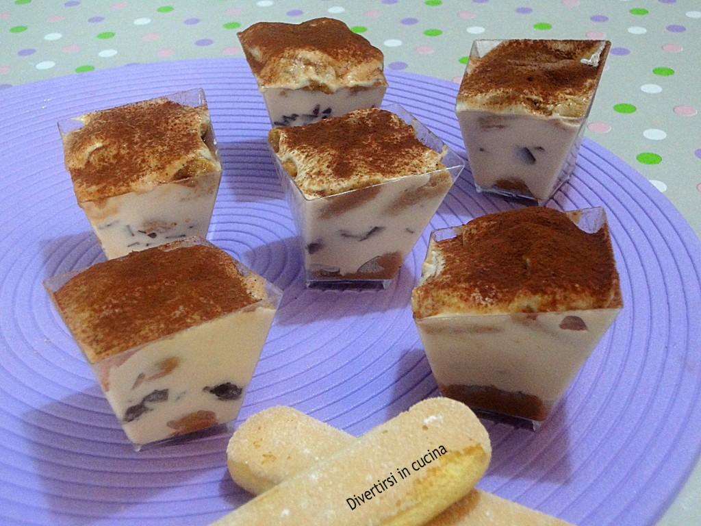 Ricetta Tiramisù leggero con yogurt al caffè Divertirsi in cucina