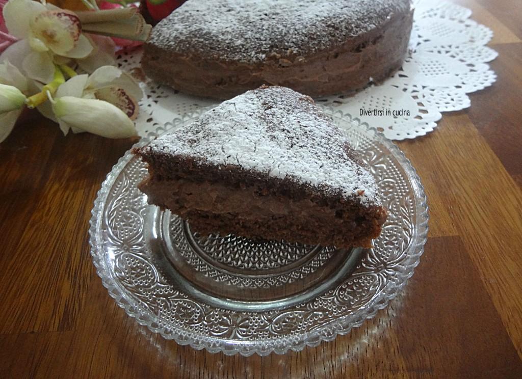 Ricetta torta al cioccolato mascarpone e Nutella Divertirsi in cucina