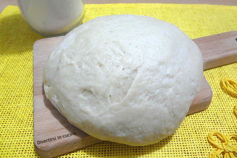 Pasta frolla senza uova e senza burro