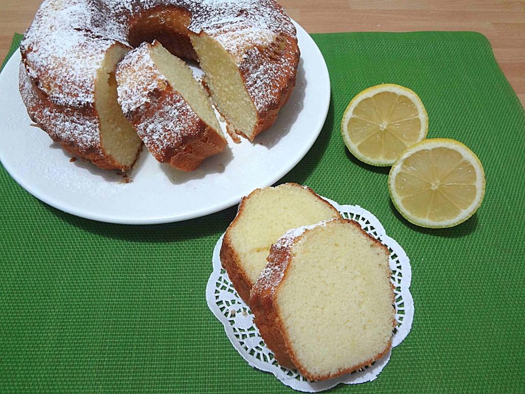 Ricetta ciambella al limone con e senza Bimby Divertirsi in cucina