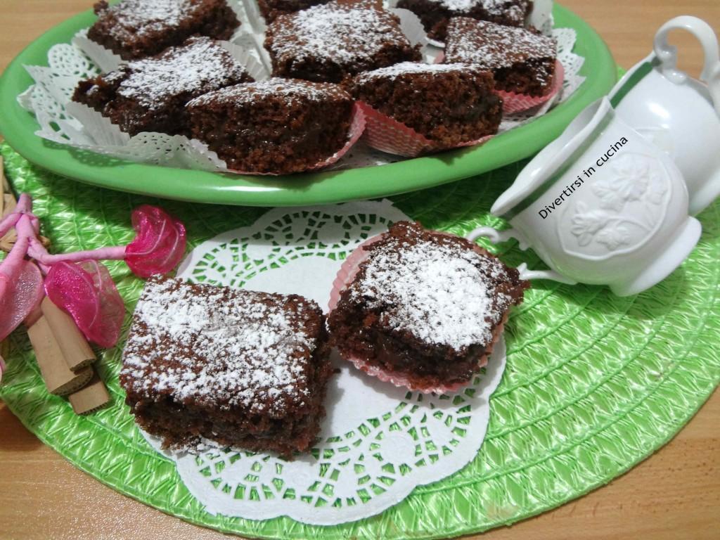 Ricetta cubotti al cioccolato Divertirsi in cucina