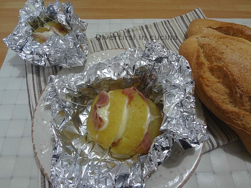 Ricetta patate farcite Divertirsi in cucina
