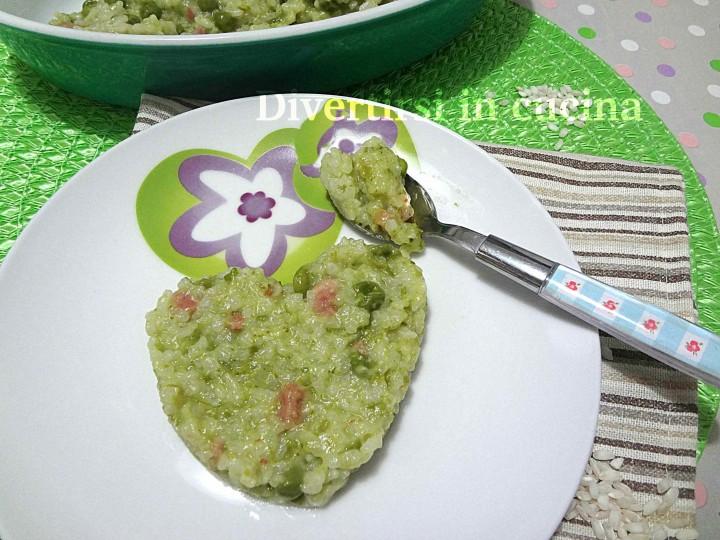Ricetta risotto salsiccia e piselli surgelati Bimby Divertirsi in cucina