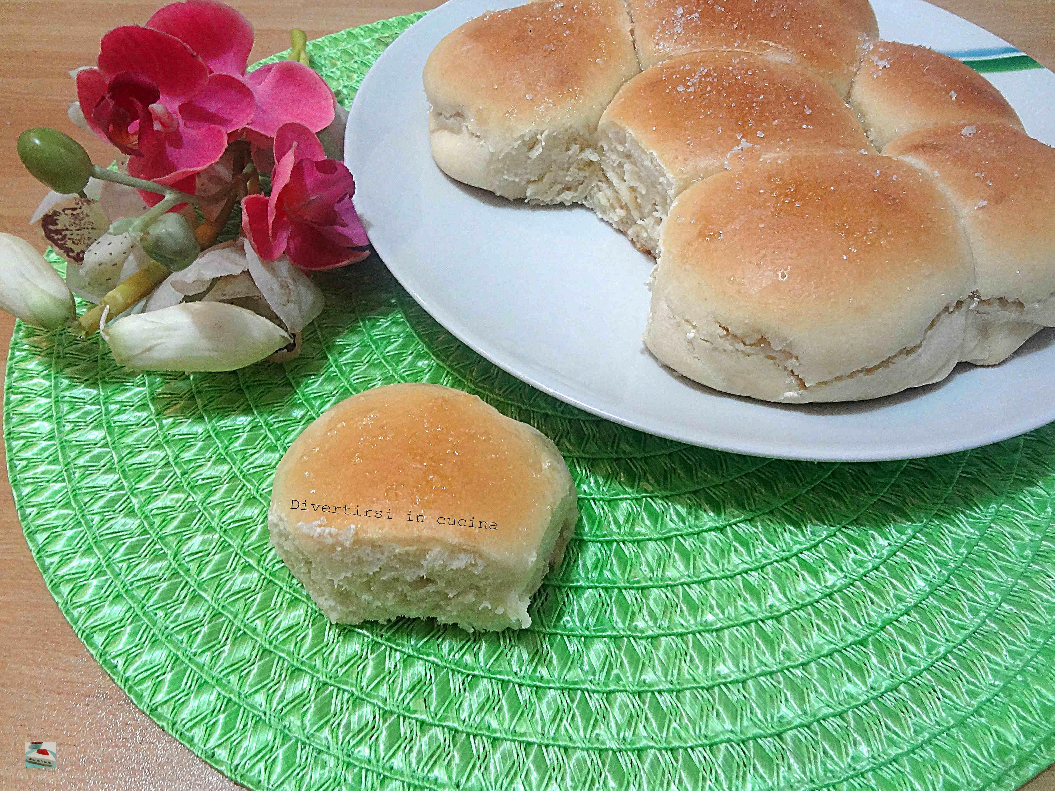 Pan brioche senza uova con lievito madre