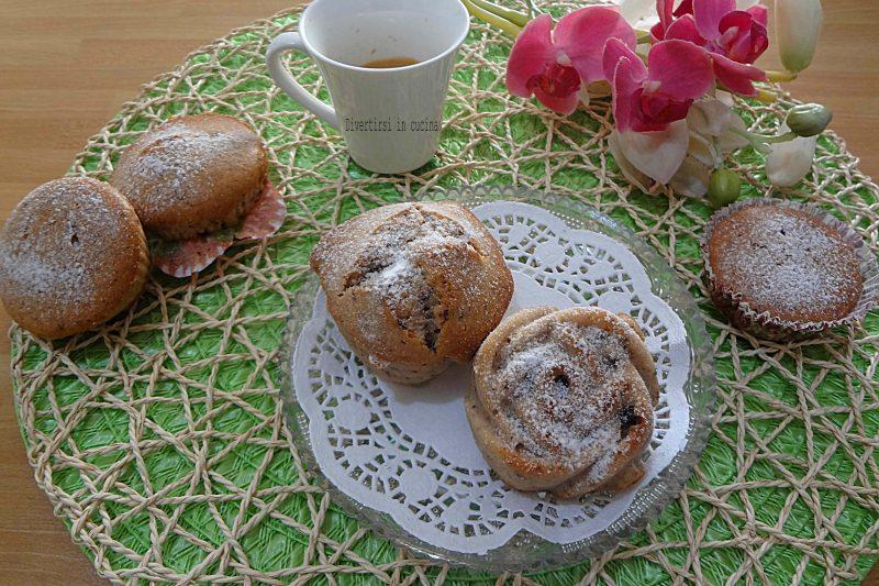 Muffin senza uova burro e lievito bimby