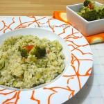 Risotto broccoli e speck ricetta bimbi Divertirsi in cucina