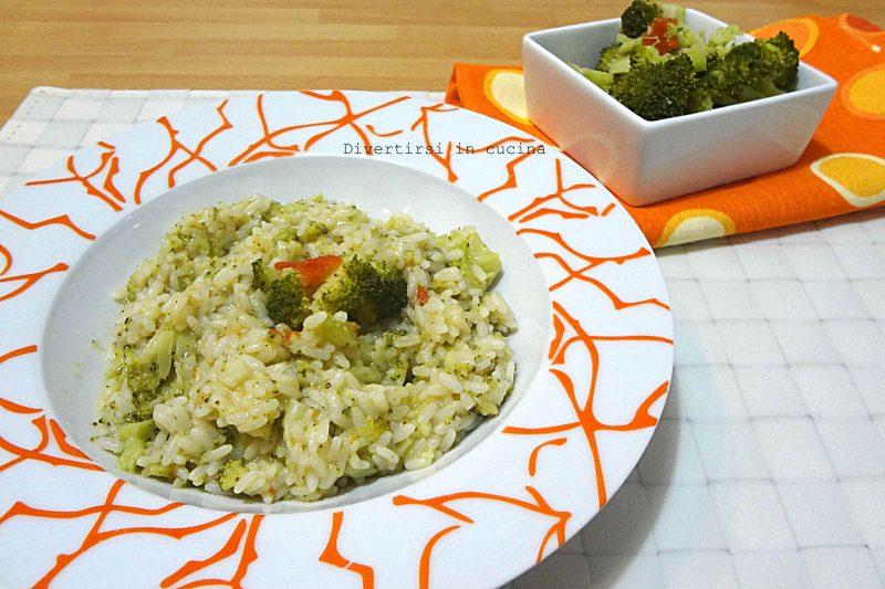 Risotto broccoli e speck ricetta Bimby