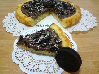 Ricetta crostata morbida Nutella e Oreo Divertirsi in cucina