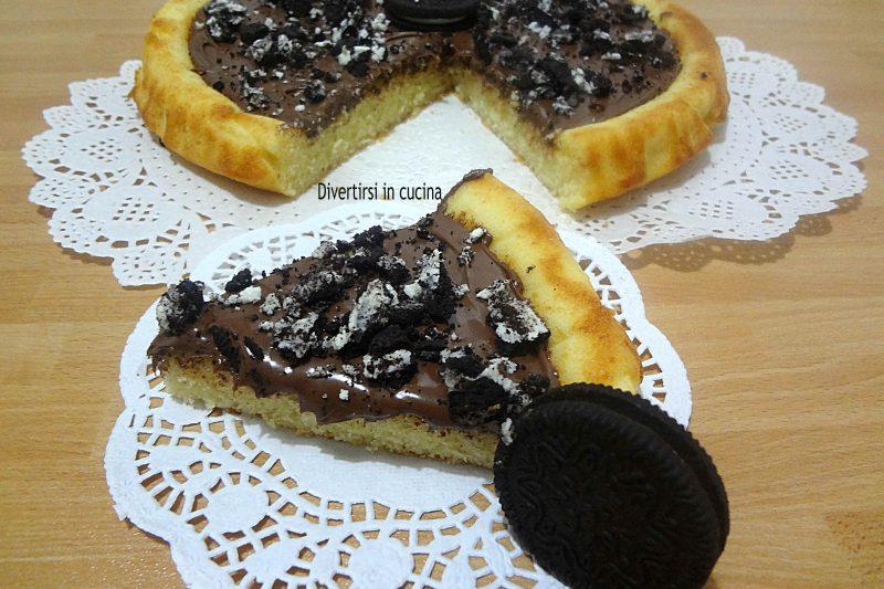 Crostata morbida Nutella e Oreo