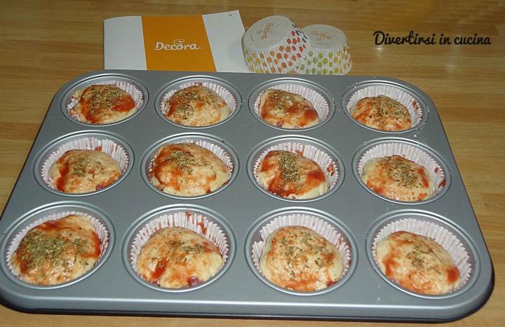 Ricetta Muffin pizza Divertirsi in cucina