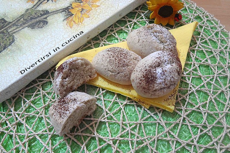 Biscotti da inzuppo integrali senza uova
