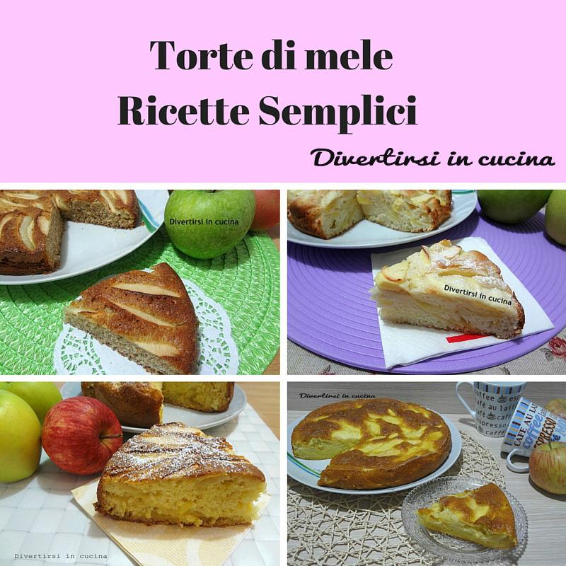 Torte di mele ricette semplici divertirsi in cucina for Ricette cucina semplici