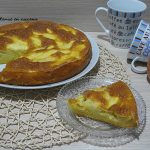 Torta di mele light senza uova e senza burro