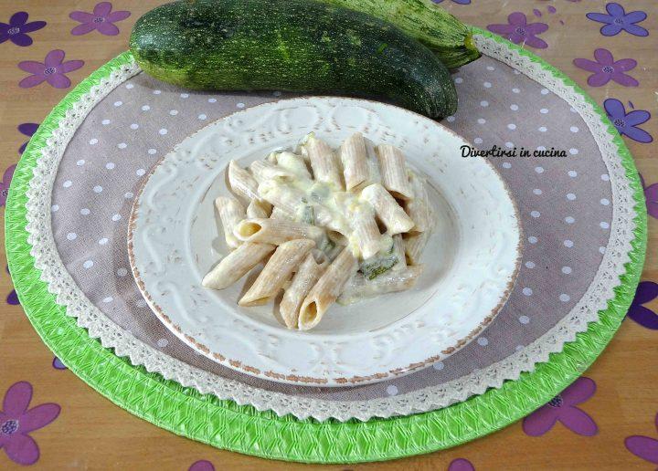 pasta zucchine e philadelphia veloce | divertirsi in cucina - Pasta Veloce Da Cucinare